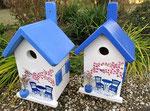 """Houten Nestkastje , """"Nestkastje met Grieks Bistrootje , Details, Vogelhuisje bouwen , vogelhuisje met Grieks Bistrootje, Huisjes details_3"""