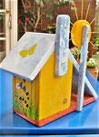 Houten Nestkastje voor Pindakaas pot , Nestkastje, thema, Bijen,Vogelhuisje bouwen, vogelhuisje pindakaas pot , bijen-huisje_22