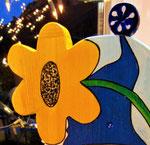 Houten Nestkastje De Kabouter, Details, bouwen, bloem