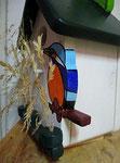 Houten Nestkastje, Nestkastje met IJsvogel, Details, Vogelhuisje bouwen ,  vogelhuisje met ijsvogel _7