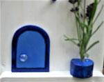 Houten Nestkastje,  Deuren en Ramen Grieks Nestkastje , Details, Vogelhuisje bouwen ,  deuren en ramen Grieks vogelhuisje _32