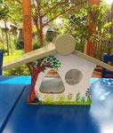 houten voederhuis beschilderd zomer uniek cadeau vogelhuis_4