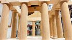 houten sfeerlicht groot led houder Grieks Griekenland Acropolis vogelvoederhuisje leuk uniek_6