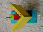 Pindakaas pot houder, model_6, lichtblauw-geel (2)