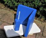 Grieks Blauw Pindakaas pot houder _2, wit=blauw
