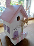 Houten Nestkastje, Nestkastje  Cottage, Details, Vogelhuisje bouwen ,  vogelhuisje -cottage