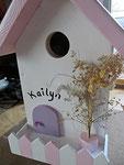 Houten Nestkastje, Nestkastje  Cottage, Details, Vogelhuisje bouwen ,  vogelhuisje -cottage_1