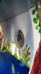 houten voederhuis beschilderd zomer uniek cadeau vogelhuis_1