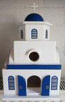 houten sfeerlicht Grieks kerk  led houder_4