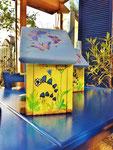 Houten Nestkastje voor Pindakaas pot , Nestkastje, thema, Vlinder, Vogelhuisje bouwen, vogelhuisje pindakaas pot, vlinder-huisje_10