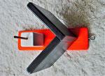Pindakaas pot houder, model_4, oranje-zwart (1)