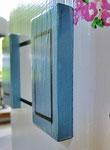 Houten Nestkastje,  Deuren en Ramen Grieks Nestkastje , Details, Vogelhuisje bouwen ,  deuren en ramen Grieks vogelhuisje _16