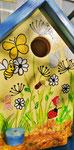 Houten Nestkastje voor Pindakaas pot , Nestkastje, thema, Vlinder, Vogelhuisje bouwen, vogelhuisje pindakaas pot, vlinder-huisje_7