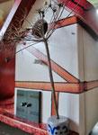 Houten Nestkastje voor Pindakaas pot , Nestkastje, thema, Vakwerk,Vogelhuisje bouwen, vogelhuisje pindakaas pot , vakwerkhuisje_6