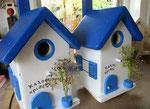 Houten Nestkastje , Grieks Nestkastje met Tekst , Details, Vogelhuisje bouwen ,  Grieks vogelhuisje met tekst , Huisjes details_12
