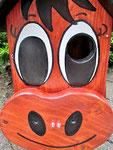 """Houten Nestkastje , """"Nestkastjes in vorm van Ezel , Details, Vogelhuisje bouwen , ezel gezicht,"""