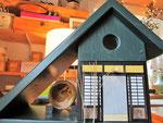 Houten Nestkastje voor Pindakaas pot , Nestkastje, thema, Liefde & Familie,Vogelhuisje bouwen, vogelhuisje pindakaas pot_7