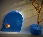 Houten Nestkastje,  Deuren en Ramen Grieks Nestkastje , Details, Vogelhuisje bouwen ,  deuren en ramen Grieks vogelhuisje _10