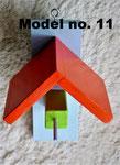 Pindakaas pot houder, model_11, lichtblauw-oranje