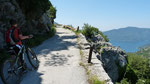 Bike-Weg oberhalb Risan