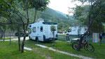 unser Camp bei Morinj