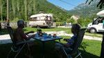 am Camp in Morinj
