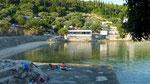 unsere Bucht am CP Camp Monika