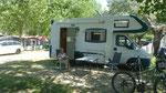 unser Acsi-Stellplatz am Camp Galeb