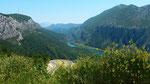 das Tal der Cetina