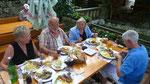 lauschiger Garten im Hinterland von Omis, direkt an der Cetina