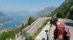 32 Serpentinen von Kotor hoch zum Nationalpark Lovcen