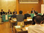 山本副会長から意見交換会での高知県土木部から回答と要望が紹介された。