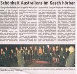 AJK im Beiprogramm des German A-Capella Festivals im KASCH