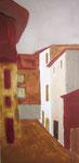 Acryl 2015, Bedoin, Provence 40x80