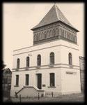 01.10.1854, Inbetriebnahme der Großherzoglichen Schwerinschen Telegrafenstation in Güstrow Baustr 3. Erbaut von Juli bis August 1854