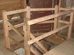 Türmerwohnung von Sankt Marien zu Güstrow, Zugang zum Bereich der Türmerwohnung restauriert