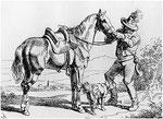 Kurier der Thurn und Taxis Post bis 1648 in Süddeutschland