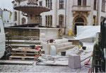 Die Reparatur wurde z. T. mit Spendenmittel der Güstrower Einwohner für das Denkmal abgedeckt möglich gemacht.