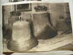 Geläut der Pfarrkirche zu Güstrow, abgehängt 1942 und zum Abtransport für zur Verschrottung für Kriegsgerät bereitgestellt.