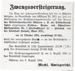 """1934 erfolgt die Enteignung der von Arbeitersportlern errichteten Sportanlage """"Stadion des Arbeitersportkartells Güstrow e. V."""" , Eigentümer wir der Reichsbund für Leibesübungen.Neuer Name """"Niklotstadion""""."""