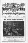Die erste Ausgabe der Mecklenburgischen Feuerwehrzeitung erschien am 15. September 1924. Letzte Ausgabe November 1938.