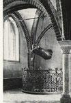 Schwebender 1927 -1937  Original, Hängung 1,  Nordosten Blickrichtung Westen (Fenster nach Barlachs Wunsch von Muggly geändert)