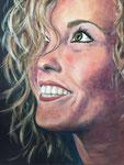 Katinka Acryl op doek 40 x 50 cm (verkocht)
