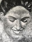 Sofie Acryl op doek 60 x 80 cm