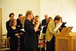 Ensemble ASC: 450 Jahre Heidelberger Katechismus. Wien, 16.10.2013 (Foto: epd/M. Uschmann)