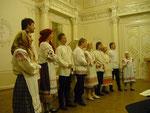 Ансамбль русской народной песни на концерте в Белом зале СПбГУКИ