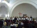На концерте в Шведской церкви