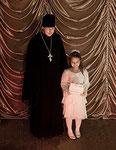 Священник Казанского кафедрального собора о.Владимир  и лауреат Первого конкурса