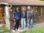 Besuch: Hans Arenz