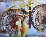 Binnenperspektive (Acrylmalerei auf Leinwand, 80 cm x 100 cm, 2010)